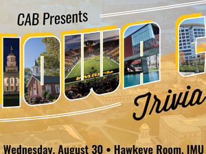 CAB Presents: Iowa City Trivia