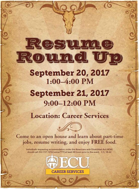 Resume Round Up