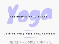 Yoga in the Residence Halls