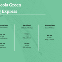Green Bag Express- Welcome Week