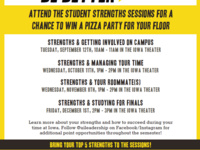 Strengths & Studying for Finals