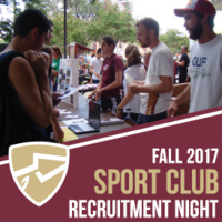 Sport Club Recruitment Night