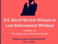 U.S. Secret Service Women in Law Enforcement Webinar