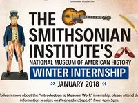 Smithsonian Winter Internship Info Session
