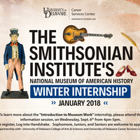 Smithsonian Winter Internship Info Session
