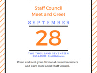 Staff Council Meet & Greet