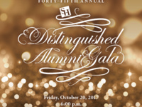 Forty-Fifth Annual Distinguished Alumni Gala