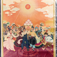 """Gallery Tour with Anne Rose Kitagawa and faculty  """"Graphic Ideology: Cultural Revolution Propaganda from China"""""""