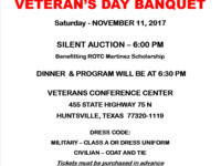 Veterans Day Banquet