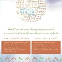 """Healthy Lifestyle Consultation: """"Just for the Health of It"""""""