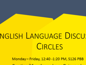 English Language Discussion Circle
