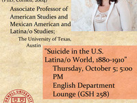 Suicide in the U.S. Latina/o World, 1880-1910