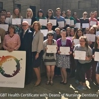 "LGBT Health Certificate ""Patient Simulation"" session"