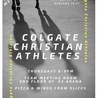 Colgate Christian Athletes - Weekly Team Huddle