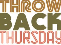 Throwback Thursday (Hurricane Thursday)