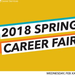 2018 Spring Career Fair