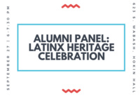 Alumni Panel: Latinx Heritage Celebration