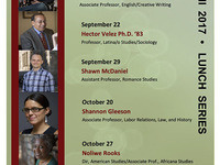 Latina/o Studies Fridays w/Faculty Luncheon Seminar