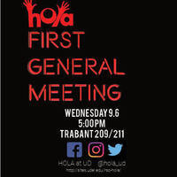 HOLA 1st General Meeting