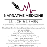 Narrative Medicine Lunch & Learn