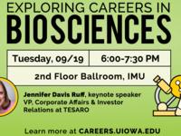 Exploring Careers in Biosciences