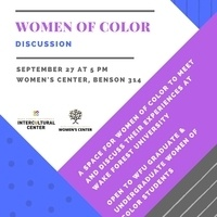 Women of Color Discussion