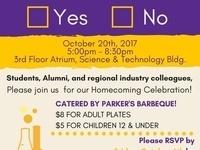 Chemistry Homecoming Celebration 2017