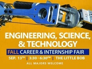 Engineering, Science & Technology Fall Career & Internship Fair