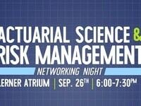 Actuarial Science & Risk Management Networking Night