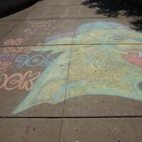 Homecoming Sidewalk Chalk
