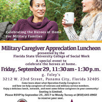 Military Caregiver Appreciation Luncheon