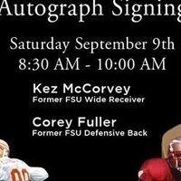 FSU Bookstore Autograph Signing