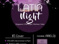 Latin Dance Night w/ Salsa class