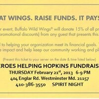Buffalo Wild Wings Fundraiser Event