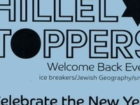 Hillel Toppers Welcome Back Social