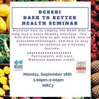 DASH to Better Health Seminar