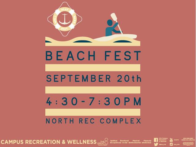 Beach Fest 2017 by Campus Recreation & Wellness