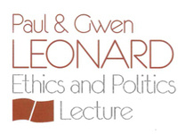 Paul and Gwen Leonard Ethics and Politics Lecture featuring Prof. Elizabeth Anderson