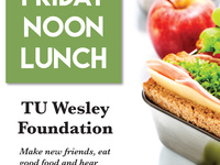 Friday Lunch at Wesley