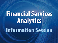 Financial Services Analytics PhD Info Session