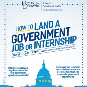 How to Land A Government Job or Internship