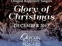 Oregon Repertory Singers: Glory of Christmas
