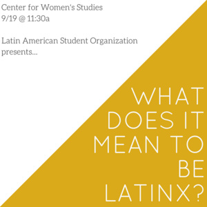 What Does it Mean to Be Latinx?