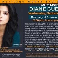 Latino Heritage Month Extravaganza ft Diane Guerrero