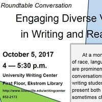 Roundtable Conversation: Engaging Diverse Voices in Writing & Reading