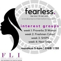 "Fearless Leadership Institute: Interest Group Week 4 - ""Next Steps"""