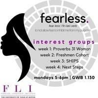 "Fearless Leadership Institute: Interest Group Week 1 - ""Proverbs 31 Woman"""
