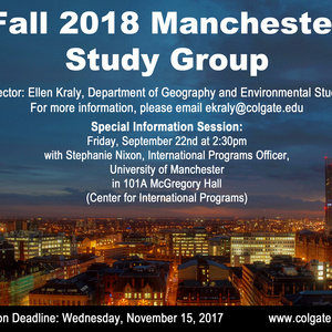 Manchester Study Group Special Info Session