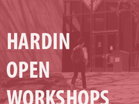 Hardin Open Workshops: ORCID: Open Researcher and Contributor ID