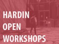 Hardin Open Workshops -Scholarly Impact: H-index, Impact Factor, and Eigenfactor